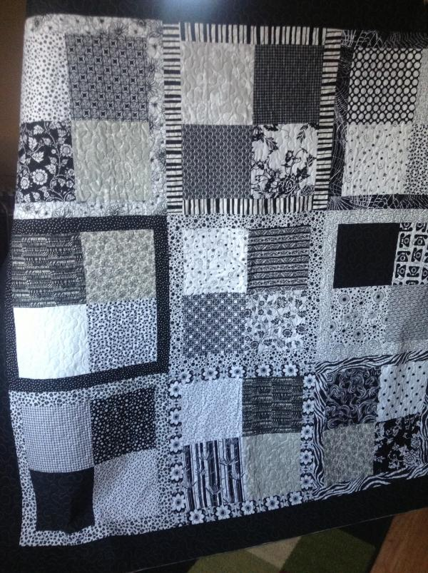 Linda's Black and White Mix