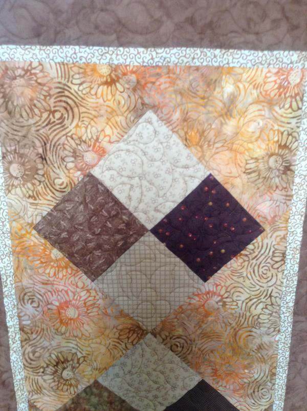 Ann's Cinnamon Quilt