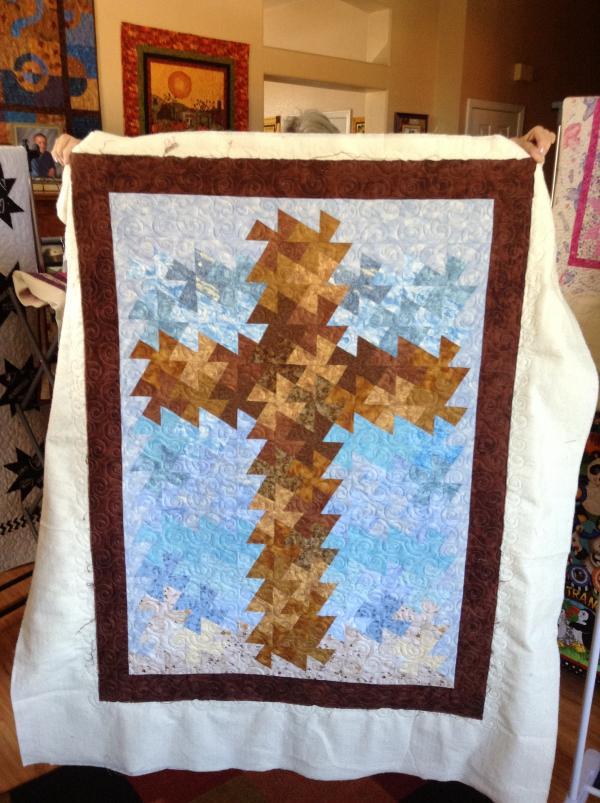 Kathy's Twisted Star Cross