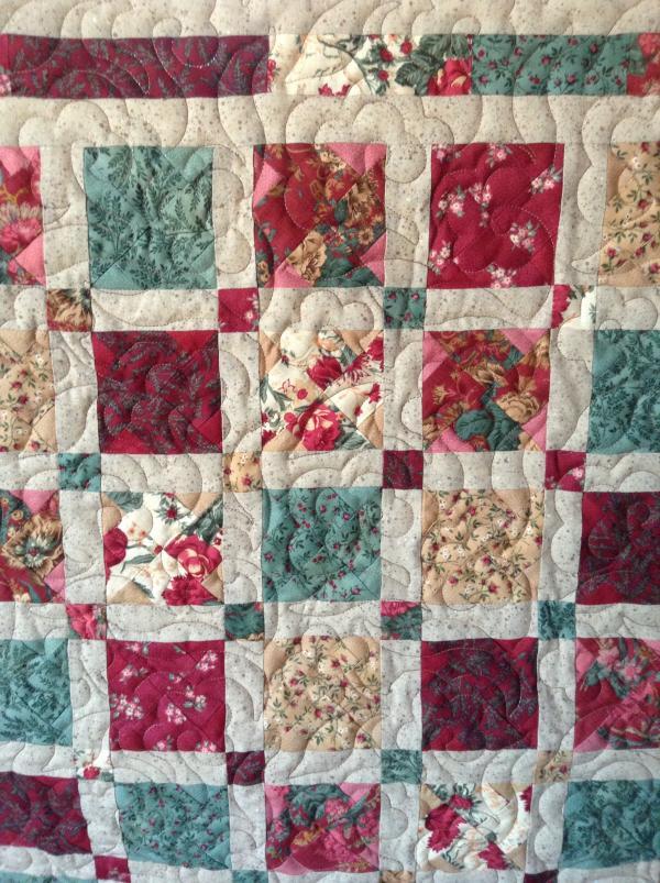 Jeannie's X-Block Quilt