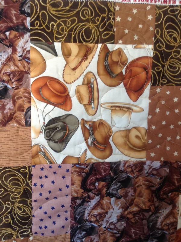 Jeannie's Cowboy Quilt
