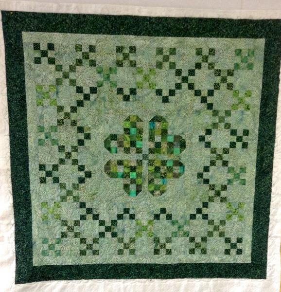 Lois' St. Patty's Day Quilt