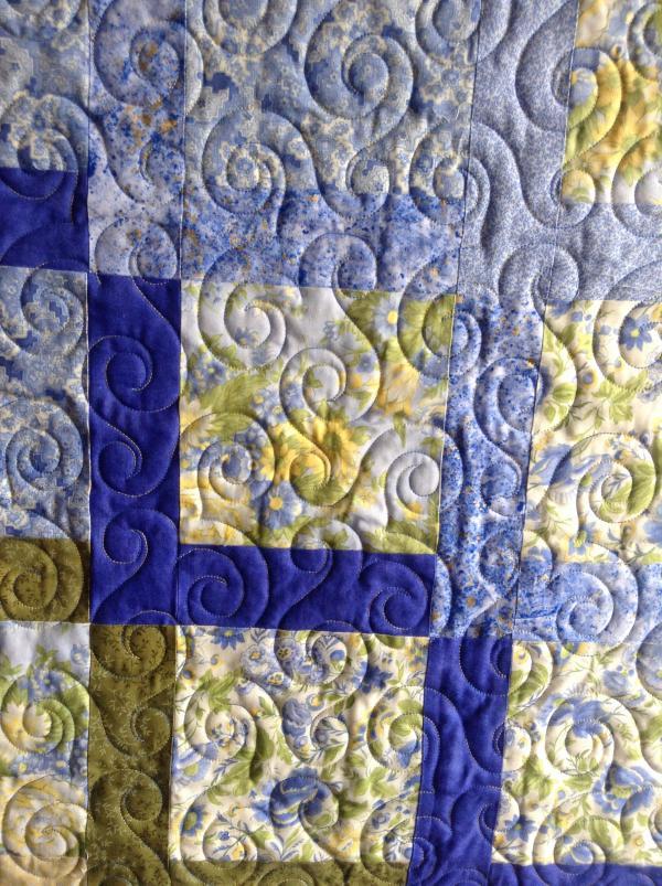 Carole's Blue Floral