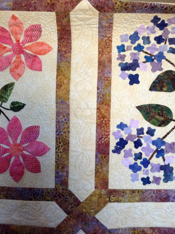 Bobbi's Floral Applique