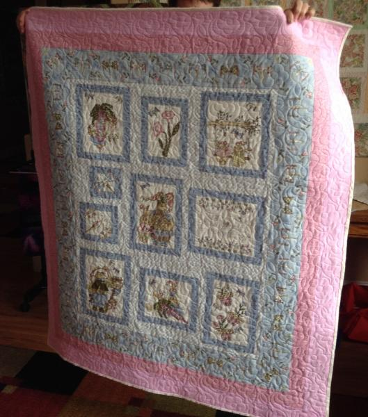 Judy's Bunny Quilt