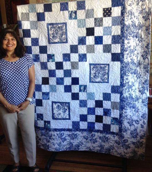 Madhuri's Blue Garden