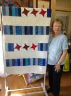 Betty's Rail Bars and Stars Quilt