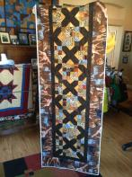 Judy's Jungle Runner Quilt