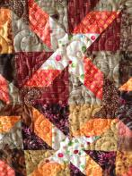 Patty's Bright Scrappy Quilt