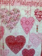 Lois' Valentine Table Runner