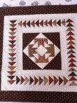 Leah's Brown Retreat Quilt