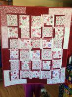 LuAnn's Valentine Wall Quilt