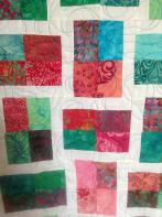 Gracie's Modern 4-Patch Batik
