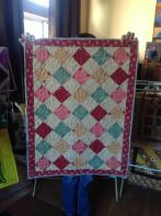 Jeannie's On-Point Quilt