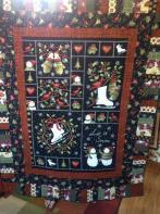 Ann's Snowman Flannel