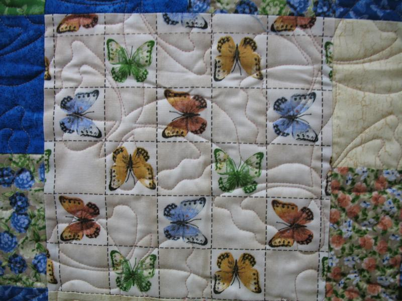 Angela's Butterfly Collection Quilt