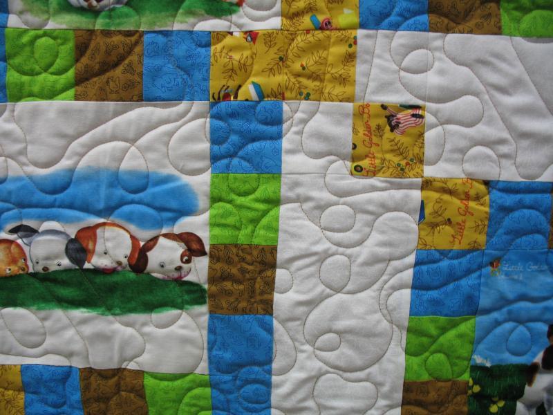 Loretta's Pokey Little Puppy Quilt