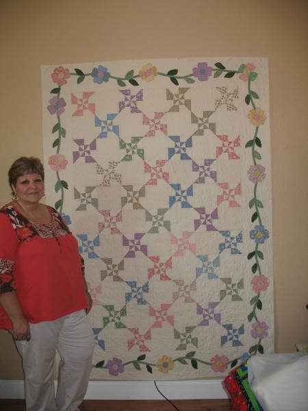 Donna's Applique Quilt