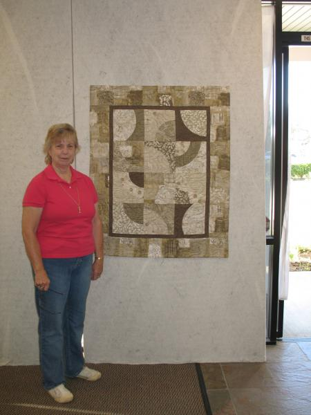 Gracie's Art Quilt