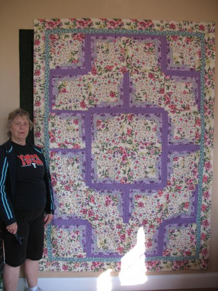 Gracie's Log Cabin Quilt