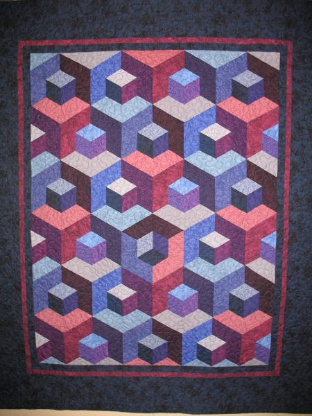 Marsha's Jinny Beyer Kit Quilt