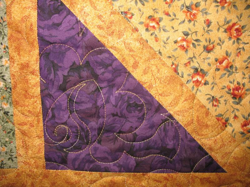Joan's Floral Quilt