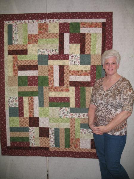 Jackie's Multicolor Quilt