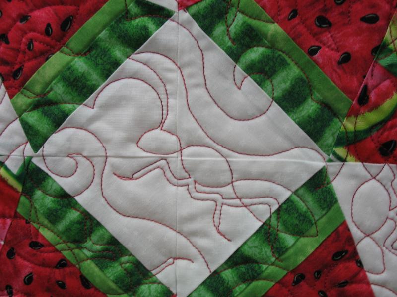 Angela's Watermelon Quilt
