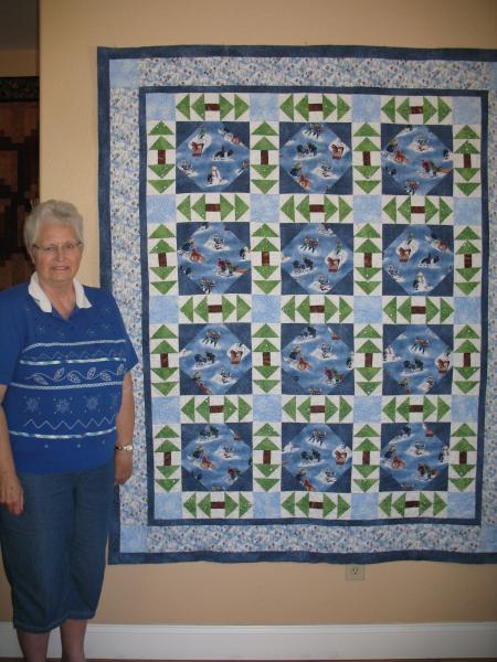 Jenny's Winter Quilt