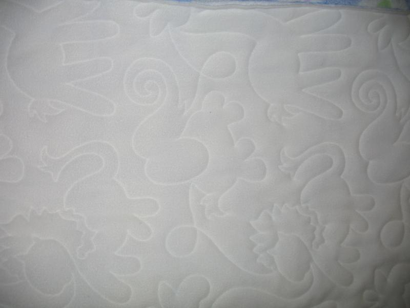 Marjorie's Elephant Minkee Quilt