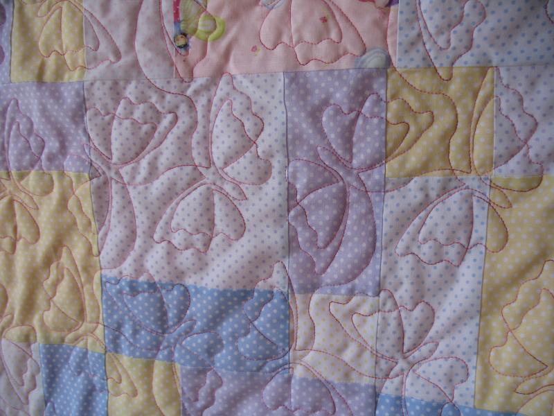 Anne's Minkee Baby Quilt