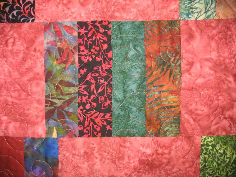 Marie's Batik Quilt