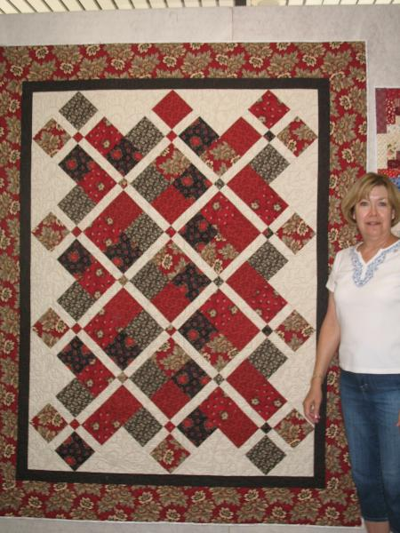 Angela's Crossses The Line Quilt