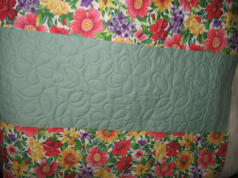 Kathy's Green Quilt