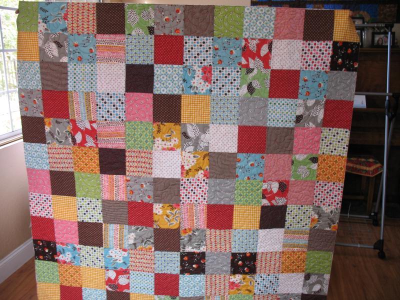 Liz's Fabric Collage-2 Quilt