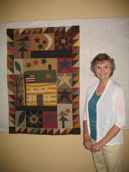Madeline's Applique Quilt