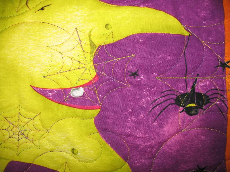 Judy's Halloween Quilt