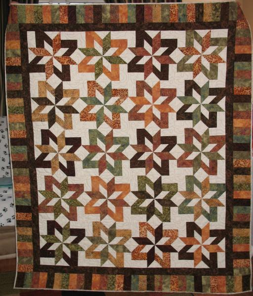 Beverly's Fall Quilt