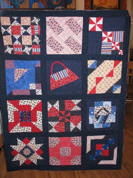 Gracie's Patriotic Quilt