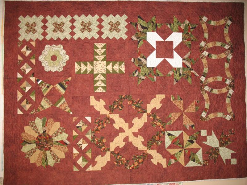 Judy's Block of the Month Sampler