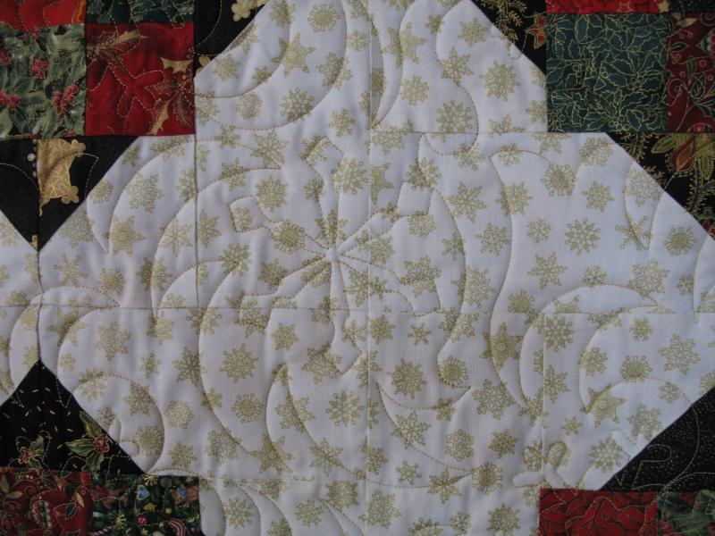 Angela's Merry Mosaic Quilt