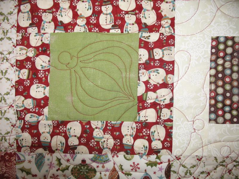 Judee's Peppermint  Posies Quilt