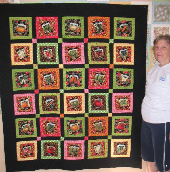 Gracie S Seed Packet Quilt Susan K Quilting
