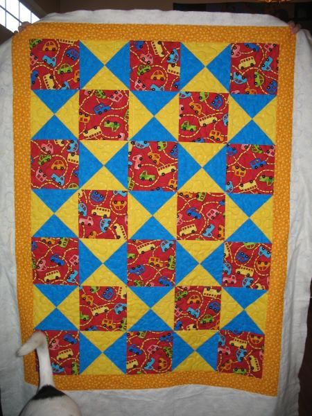 Kathy's Car Baby Quilt