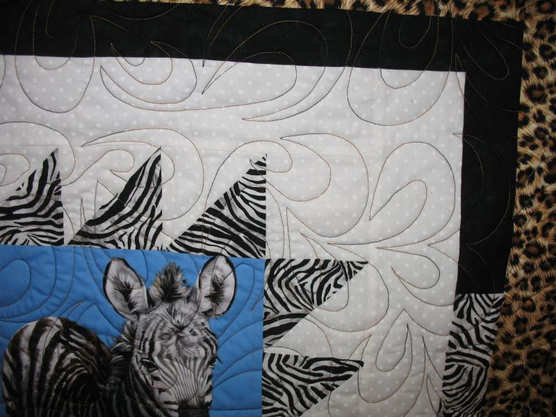 Kim's African Animals Quilt