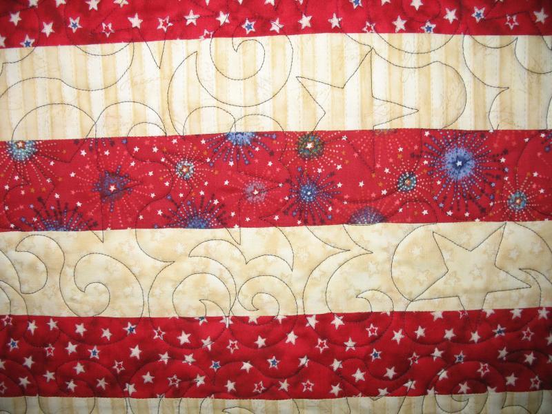 Linda's Flag Quilt