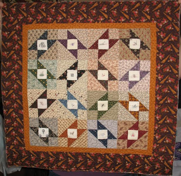 Leah's Picture Blocks Quilt