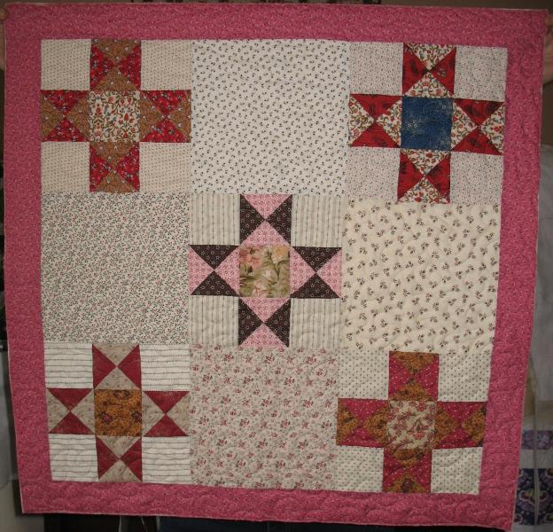 Leah's Scrappy Stars Quilt