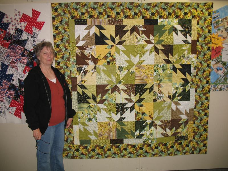 Gracie's Hunter's Star Quilt
