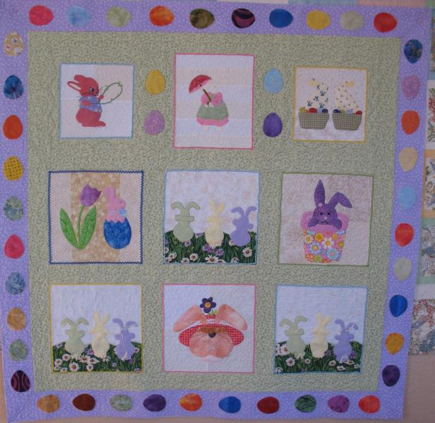 Anne's Easter Quilt
